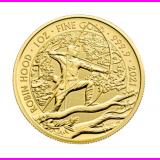 1 Ounce 2021 Robin Hood Gold Coin