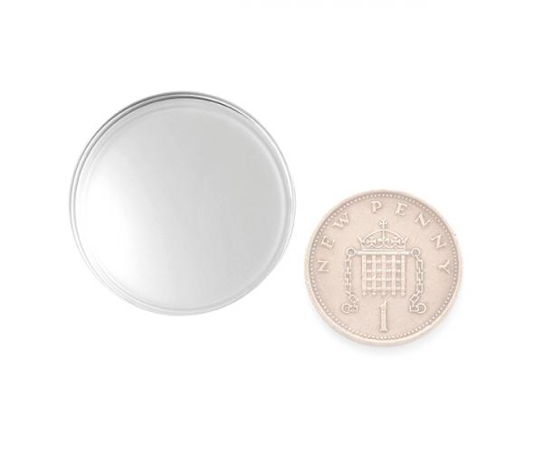 27 mm Empty Coin Capsule Pack Of 10 image