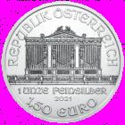 1 Ounce Austrian Silver Philharmonic (2021) .999