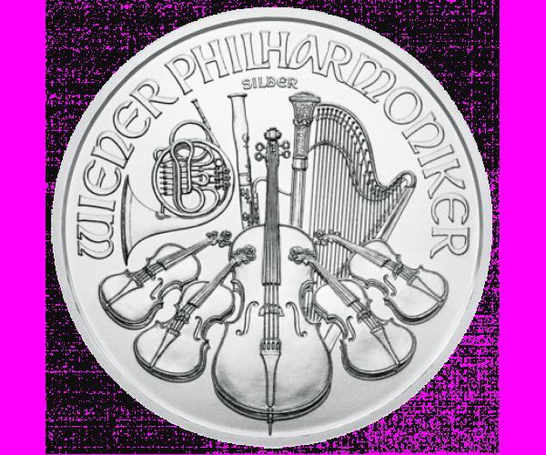1 Ounce Austrian Silver Philharmonic (2021) .999 image