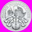 1 Oz Silver Austrian Philharmonic (2021)