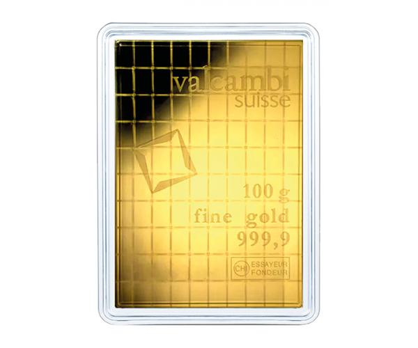 100 x 1g Pure Gold Invesment CombiBar 999.9 image