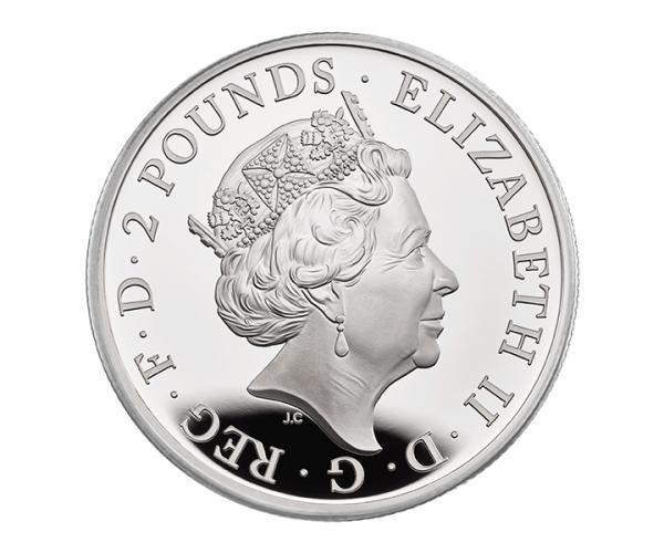 2 Oz Silver Queen's Beasts Completer (2021) image