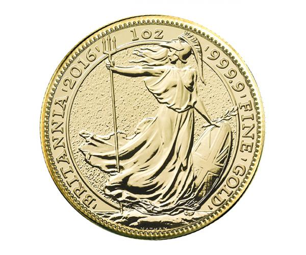 1/2 Ounce Gold Britannia (Mixed Years) CGT Free image
