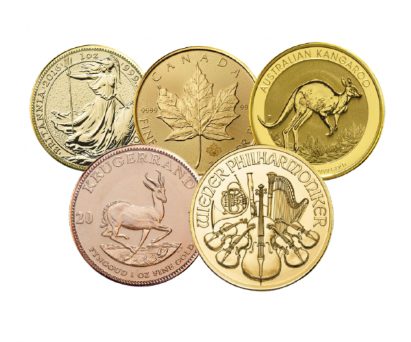 1 Oz Gold Coins (Mixed Years) image