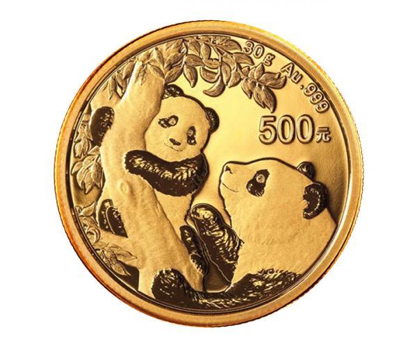 30 Gram Chinese Gold Panda Coin (2021) image