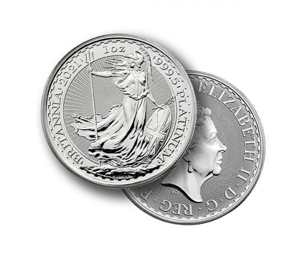 1 Ounce Platinum Britannia Coin (2021) image