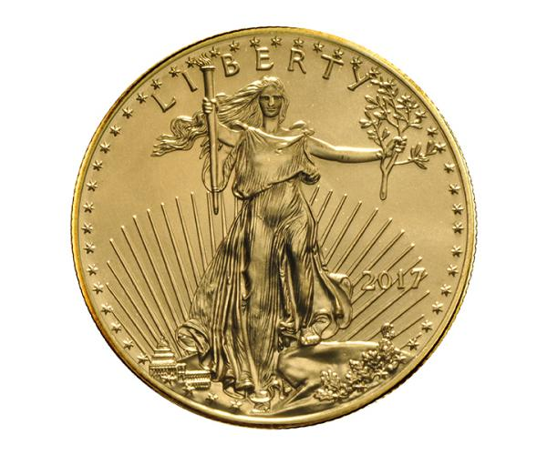 1 Ounce 22ct American Eagle Gold Coin (Mixed Years) image