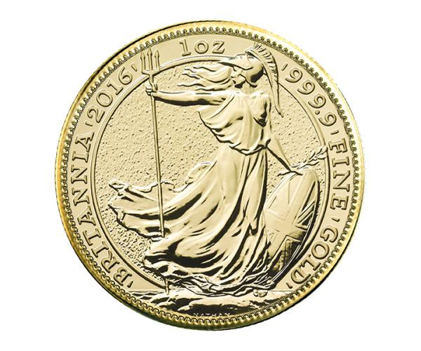 1 Ounce Gold Britannia (2013-2020) Assorted Selection 999.9 image