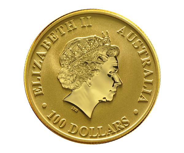 1 Ounce Australian Kangaroo Gold Coin (Mixed Years) (999.9) image