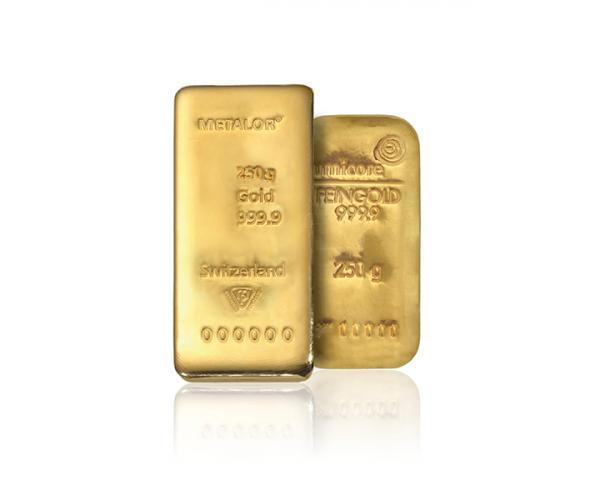 250 Gram Mixed Brands Investment Gold Bar (999.9) image