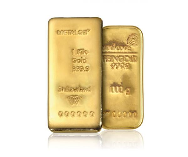 1KG Mixed Brands Investment Gold Bar (999.9) image