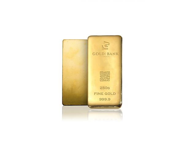 250 Gram Gold Bank Investment Gold Bar (999.9) image