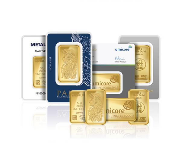 50 Gram Assorted Investment Gold Bar (999.9) image