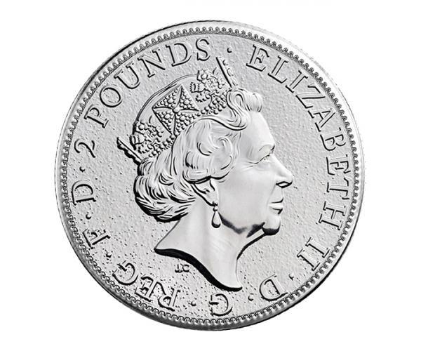 1 Oz Silver Britannia Coin (Mixed Years) image