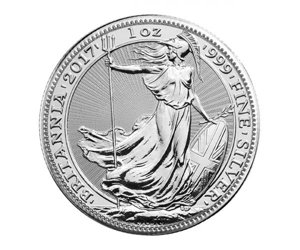 1 Ounce Silver Britannia Coin (Mixed Years) .999 image