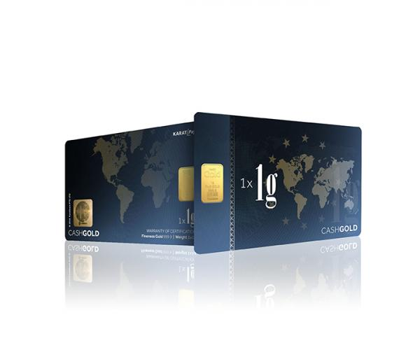 1 Gram Karat Bars Investment Gold Bar (999.9) image