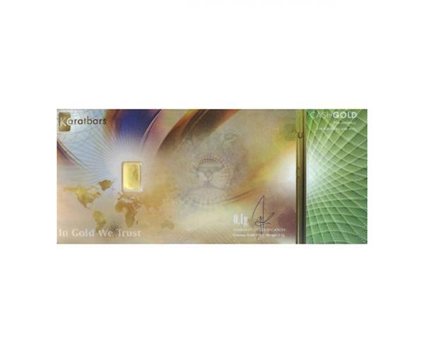 Cash Gold 0.10 Gram (999.9) image