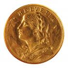 20 Swiss Francs Gold Coin (Mixed Years) .900