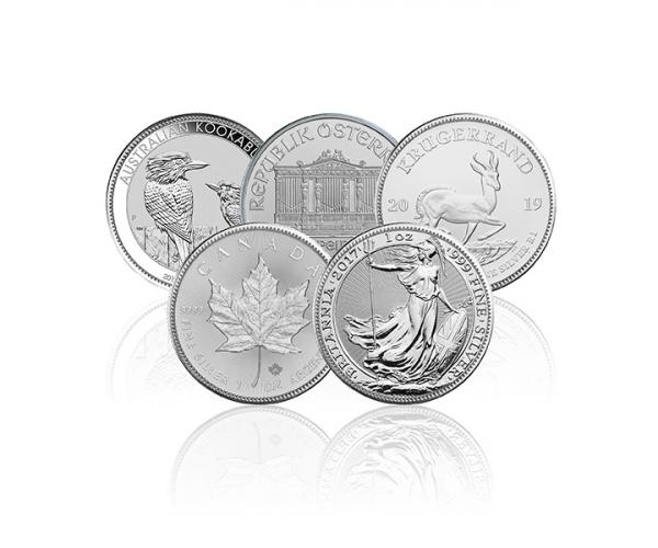 1 Ounce Fine Silver Coin (Assorted Selection) .999 image