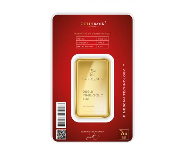 1 Ounce Gold Bank Investment Gold Bar Phoenix Edition (999.9) image