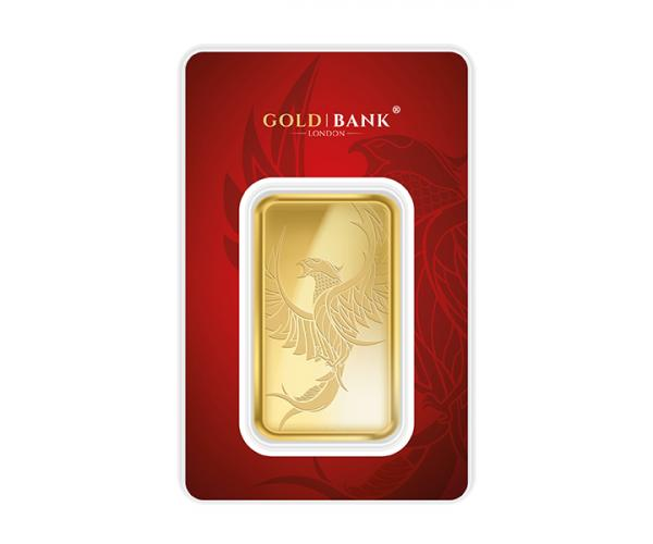 50 Gram Gold Bank Investment Gold Bar Phoenix Edition (999.9) image