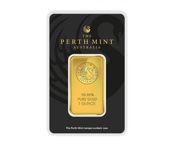 1 Ounce Perth Mint Gold Investment Bar (999.9) image