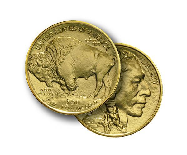 1oz American Buffalo FrontBack