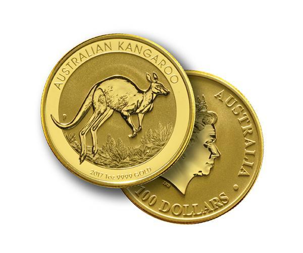 1oz Australian Kangaroo Frontback