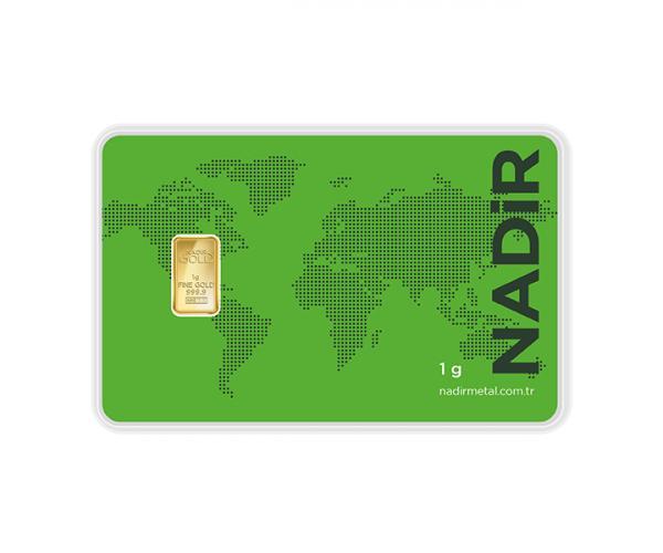 1 Gram Nadir Investment Gold Bar (999.9) image