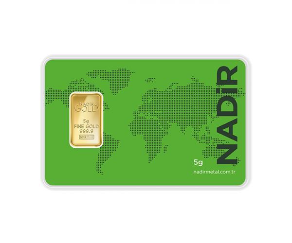 5 Gram Nadir Investment Gold Bar (999.9) image