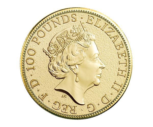 1oz Gold Britannia Front