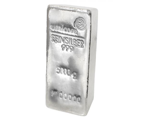 5KG Umicore Investment Silver Bar .999 image