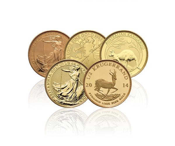 1/2 Ounce Gold Coin (Mixed Brands) Best Value image
