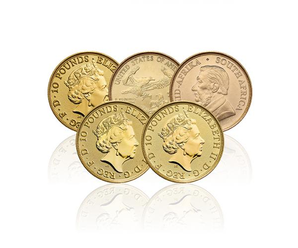 Assorted Tenth Ounce Gold Coin image
