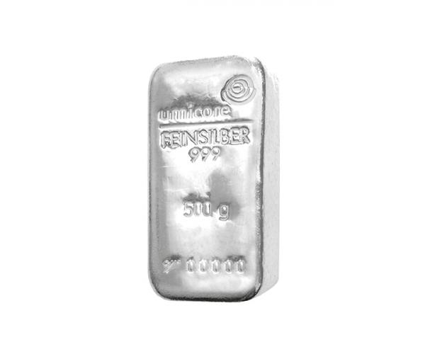 500 Gram Umicore Investment Silver Bar .999 image