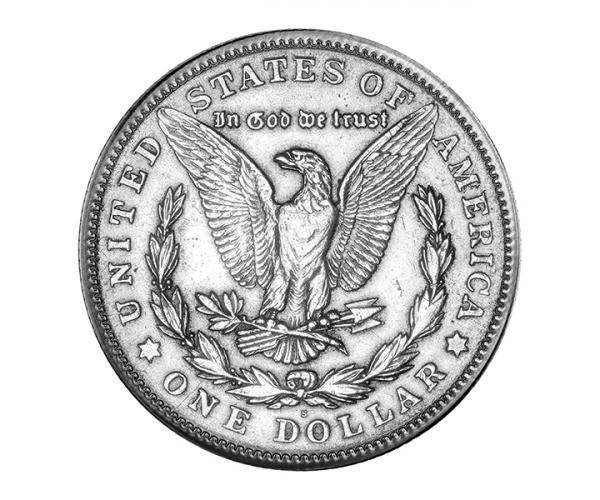 1 Ounce 1921 US Morgan Silver Dollar Silver Coin image