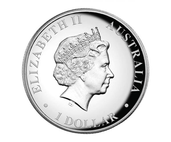 1 Ounce Australian Kangaroo Silver Coin (Mixed Years) .999 image