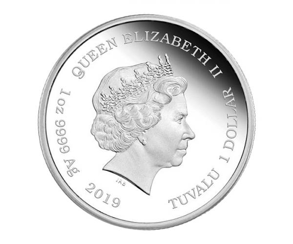 1 Ounce Marge Simpson 2019 Silver Coin .999 image