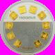 1 Gram X10 Heraeus Multi-Disc Investment Gold Bar 999.9 image