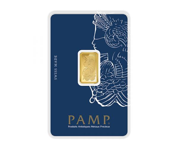 2.5 Gram PAMP Investment Gold Bar (999.9) image