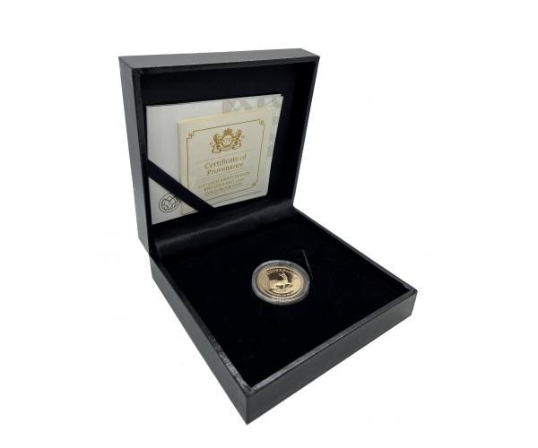 2017 50th Anniversary Krugerrand 1/4 Oz Gold Proof Coin Gift Box image
