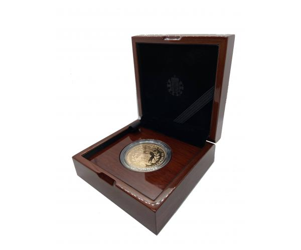 House of Windsor Centenary 2017 UK £5 Gold Proof Coin Gift Boxed image