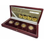 2004 Gold Beasts Proof £1 Pattern Box Set