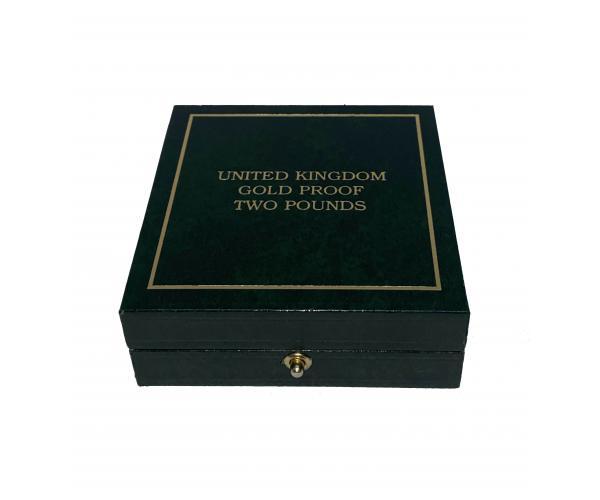 400th Anniversary Of The Gunpowder Plot UK £2 Gold Proof Coin image