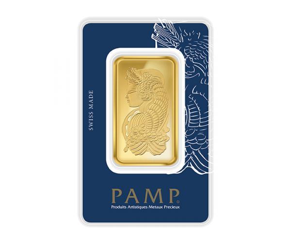 50 Gram PAMP Investment Gold Bar (999.9) image