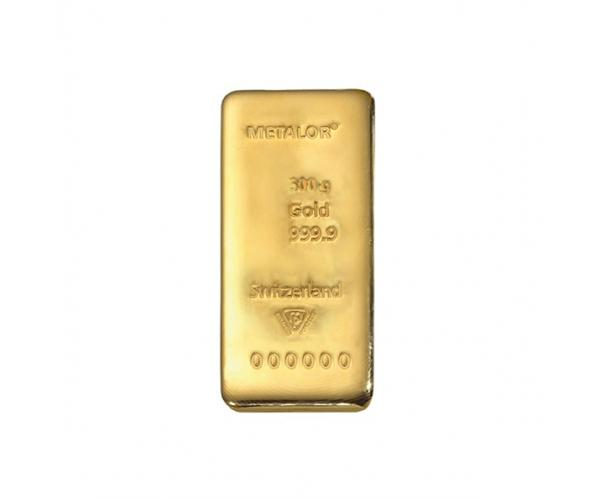 500 Gram Metalor Investment Gold Bar (999.9) image
