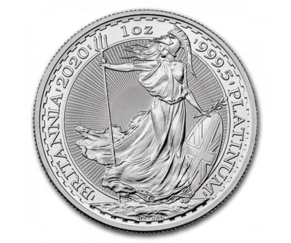 1 Ounce 2020 Silver Britannia Coin .999 image