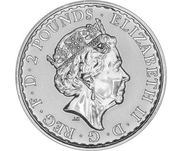 1 Oz Silver Britannia (2020) image