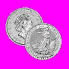 1 Ounce 2020 Silver Britannia Coin .999